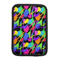Guitar Splash Pattern iPad Mini Sleeve