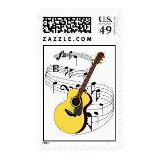Guitar Stamp