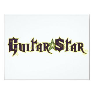 Guitar Star Card