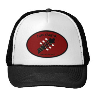GUITAR STOCK - LOVE TO BE ME TRUCKER HAT