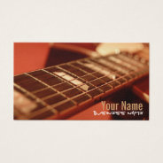 Guitar Strings Business Cards at Zazzle