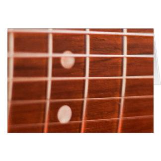Guitar strings card