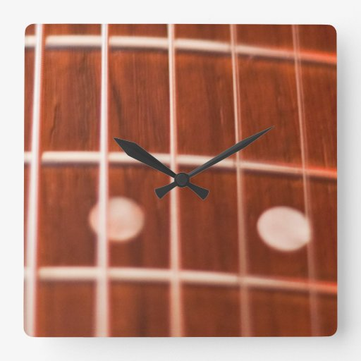 Guitar strings wallclock