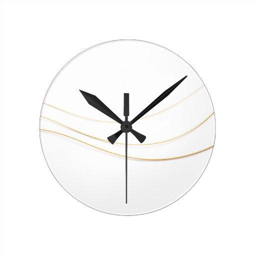 Guitar Strings Wall Clocks