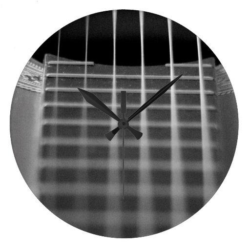 Guitar Strings Clock