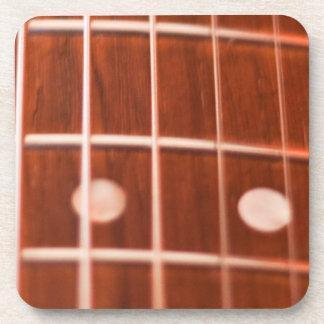 Guitar strings drink coasters