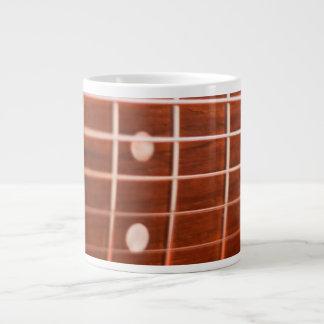 Guitar strings large coffee mug