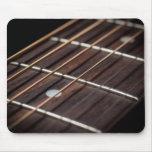 Guitar strings mousepad