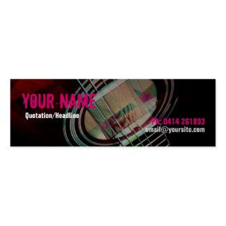 GUITAR Strings Pink Profile card