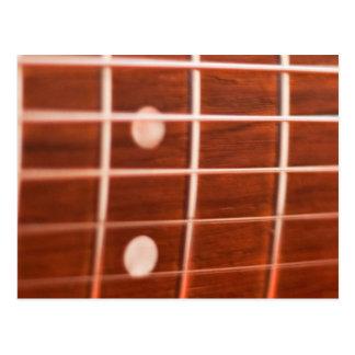 Guitar strings postcard