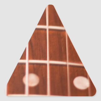 Guitar strings triangle stickers