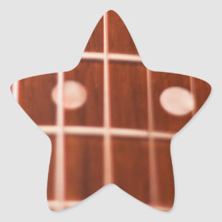 Guitar strings star stickers