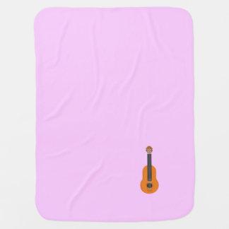 guitar stroller blanket