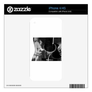 Guitar Strumming Skin For iPhone 4S