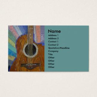 Guitar Sunshine Business Card