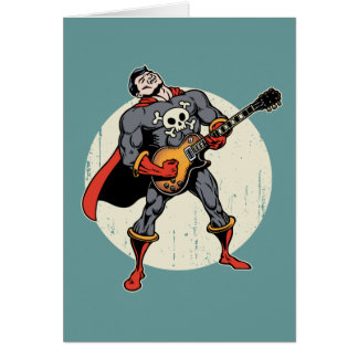 Guitar Superhero Card