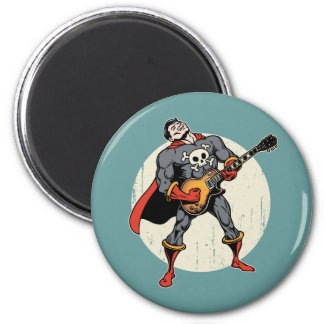 Guitar Superhero Magnet