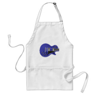 Guitar-T neon Glow blue Adult Apron