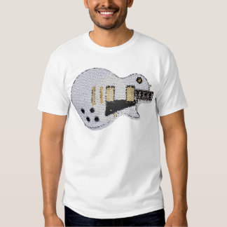 Guitar-T stained glass T Shirt