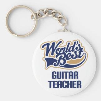 Guitar Teacher Gift Keychain
