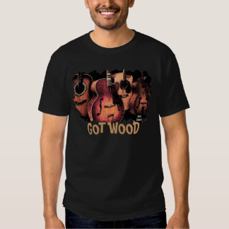 guitar-tee, GOT WOOD Tee Shirt