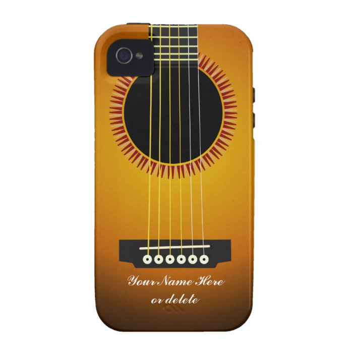 Guitar Texture iPhone 4 Case-Mate Vibe Case