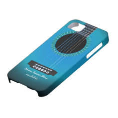 Guitar Texture iPhone 5 Cover iPhone 5 Case