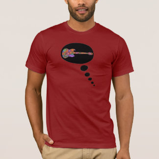 Guitar Thought Bubble T-Shirt