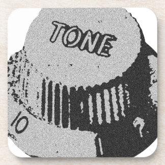 Guitar Tone Knob Beverage Coaster