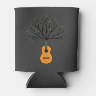 Guitar Tree Can Cooler