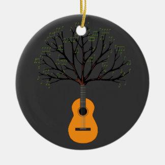 Guitar Tree Christmas Ornaments