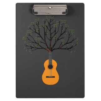 Guitar Tree Clipboard
