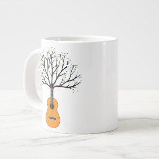 Guitar Tree Giant Coffee Mug
