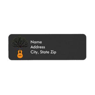 Guitar Tree Label