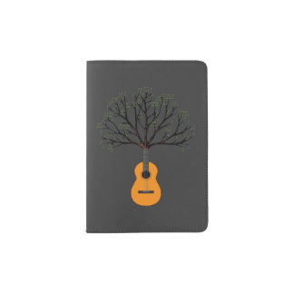 Guitar Tree Passport Holder