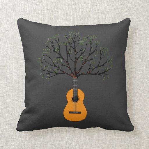 Guitar Tree Pillows