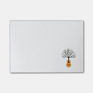 Guitar Tree Post-it Notes