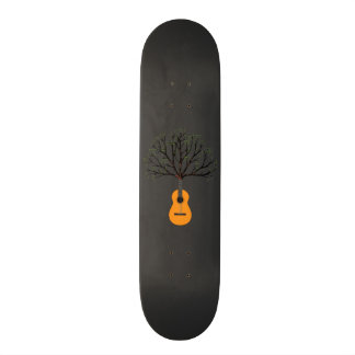 Guitar Tree Skateboard Deck