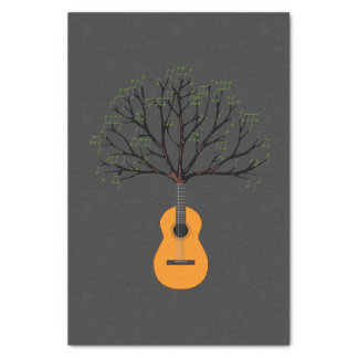 Guitar Tree Tissue Paper