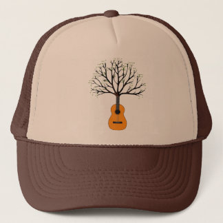 Guitar Tree Trucker Hat