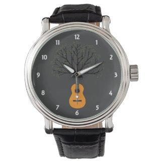 Guitar Tree Wrist Watches