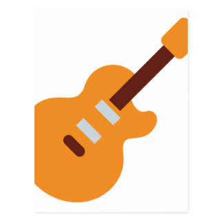 Guitar - Twitter Emoji Postcard
