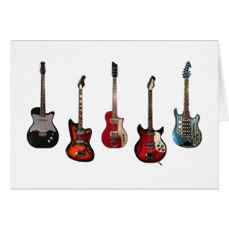 Guitar Unity Card