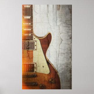 Guitar Vibe 1- Single Cut 59 Poster