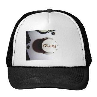 Guitar Volume Knob Mesh Hat