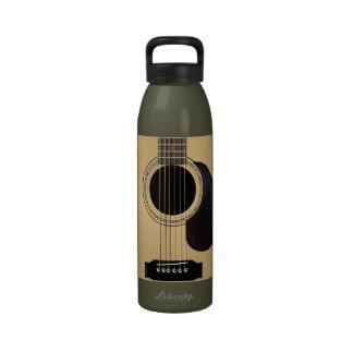 Guitar Reusable Water Bottle