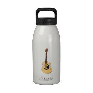 Guitar Reusable Water Bottles