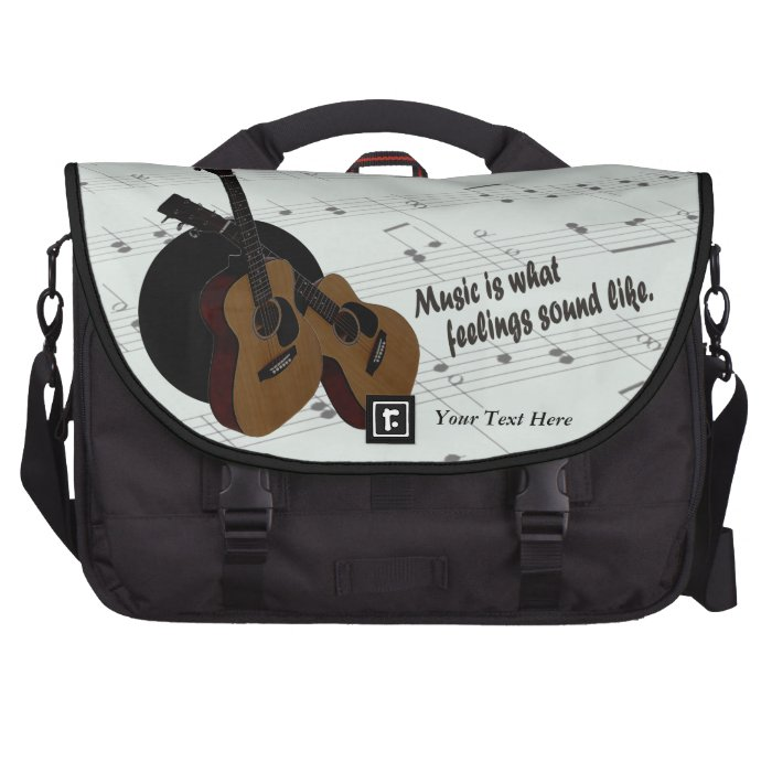 Guitar - What Feelings Sound Like Laptop Bag