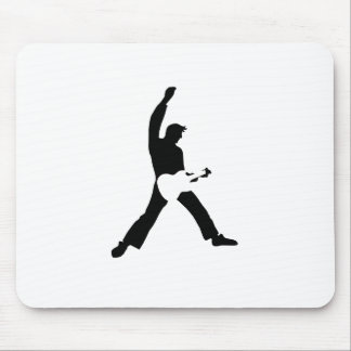 Guitar Windmill Mouse Pad