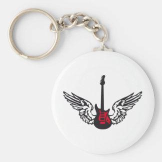 guitar wings keychain